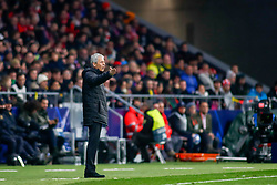 November 6, 2018 - Madrid, MADRID, SPAIN - Lucien Favre of Borussia during the UEFA Champions League football match between Atletico de Madrid and Borussia Dormund on November 06th, 2018 at Estadio Wanda Metropolitano in Madrid, Spain. (Credit Image: © AFP7 via ZUMA Wire)
