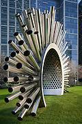 canary wharf. art. public. outdoor. sculpture. luke jerram.