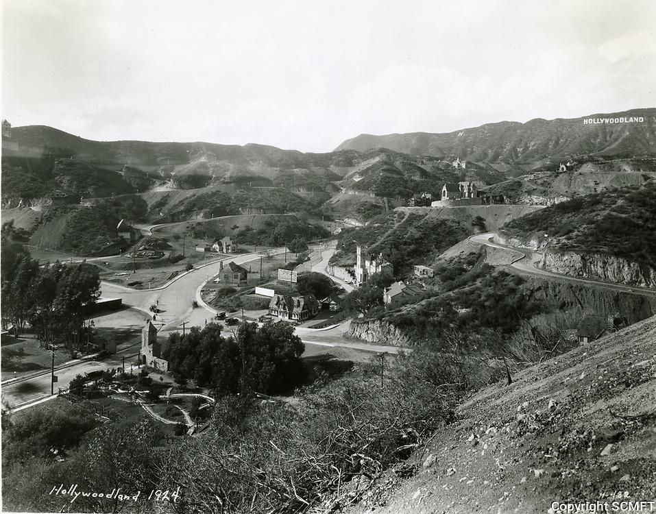 1924 Hollywoodland
