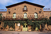 Bodegas Muga in the town of Haro, Rioja, Spain. As are many of the older wineries of Spain, Bodegas Muga is family-owned and family-run since its establishment in 1932 by the father of its current president, Isaac Muga.