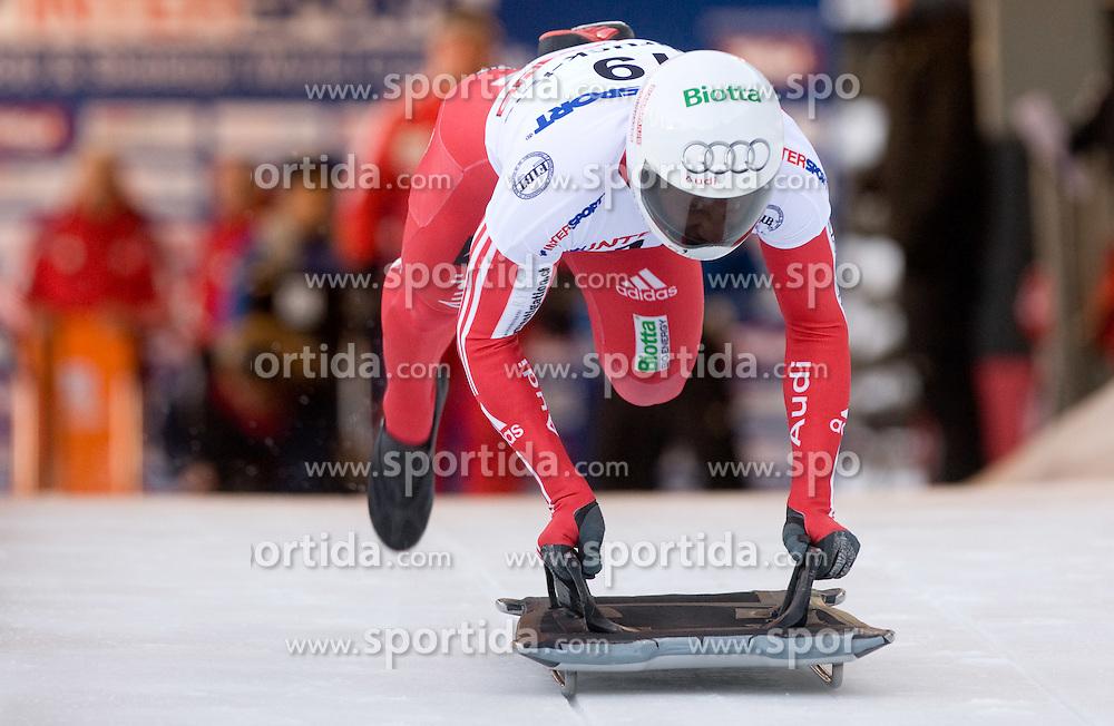 Pascal Oswald of Switzerland competes during 1st Run of FIBT Bob & Skeleton World Cup Innsbruck-Igls race on January 23, 2009 in Igls, Innsbruck, Austria. (Photo by Vid Ponikvar / Sportida)