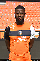 Arnnold Mvuemba Makengo during photoshooting of FC Lorient for new season 2017/2018 on September 12, 2017 in Lorient, France. (Photo by Philippe Le Brech/Icon Sport)