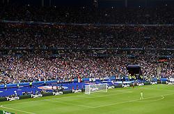 France fans celebrate the winning goal  - Mandatory by-line: Joe Meredith/JMP - 10/06/2016 - FOOTBALL - Stade de France - Paris, France - France v Romania - UEFA European Championship Group A