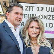 NLD/Blaricum/20190513 -  Lock Me Up - Free a Girl actie benefietfeest, Nikkie Plessen en partner Ruben Bontekoe