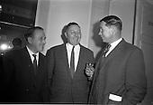 1963 - Leipzig Fair reception and film show at the Gresham Hotel