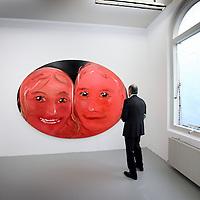 Nederland, Amsterdam , 24 november 2011..Rijksacademie Open eindexamen tentoonstelling, presentatie..Op de foto werk van de kunstenaar Philipp Kremer..Foto:Jean-Pierre Jans