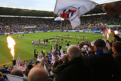 16 May 2017 - Sky Bet Championship - Play-off 2nd Leg - Reading v Fulham - A general view (GV) of madejski stadium as the teams come out - Photo: Marc Atkins / Offside.