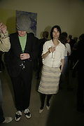 Michael Landy and Gillian Wearing. Johnnie Shand Kydd:  book launch party celebrate the publication of Crash.White Cube. Hoxton sq. London. 18 September 2006. ONE TIME USE ONLY - DO NOT ARCHIVE  © Copyright Photograph by Dafydd Jones 66 Stockwell Park Rd. London SW9 0DA Tel 020 7733 0108 www.dafjones.com