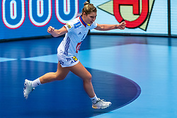 Chloe Valentini of France in action during the Women's EHF Euro 2020 match between France and Russia at Jyske Bank BOXEN on december 11, 2020 in Kolding, Denmark (Photo by RHF Agency/Ronald Hoogendoorn)