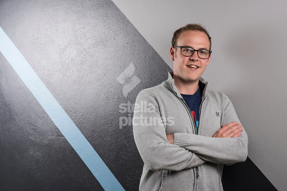 Dan Bladen, CEO and Co Founder of Chargifi, a wireless charging solution. <br /> Picture by Daniel Hambury/Stella Pictures Ltd 07813022858<br /> 05/06/2017