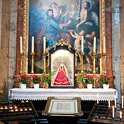 Altar in Karlskirche (St. Charles' Church) in Vienna, Austria