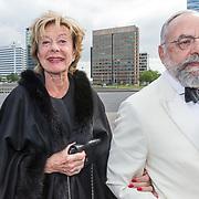 NLD/Amsterdam/20190525 - AmsterdamDiner 2019, Neelie Smit-Kroes en Oscar Hammerstein