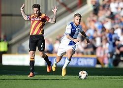 Matt Taylor of Bristol Rovers attacks inside the bradford half. - Mandatory by-line: Alex James/JMP - 17/09/2016 - FOOTBALL - Coral Windows Stadium - Bradford, England - Bradford City v Bristol Rovers - Sky Bet League One