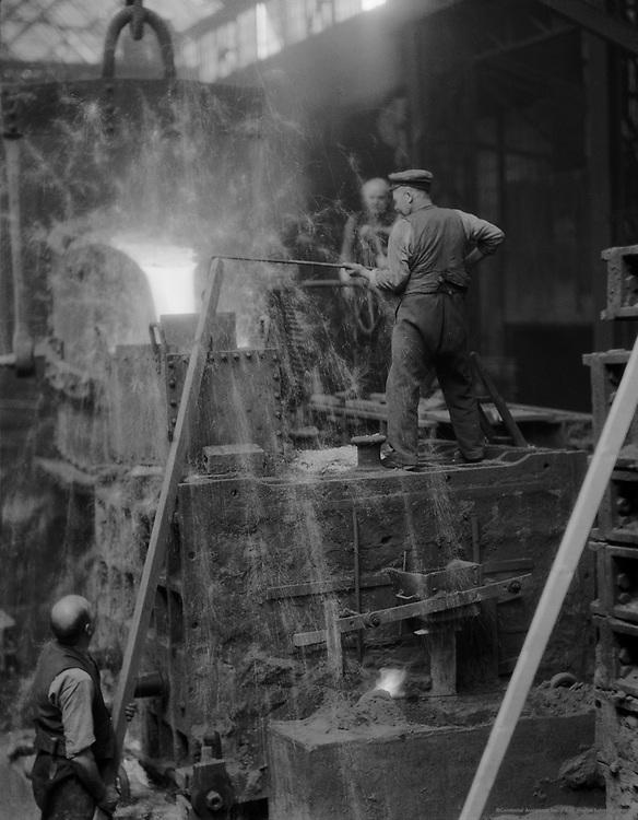 Workers on Factory Floor, Borsig Locomotive Works, Berlin, 1928