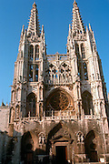 SPAIN, CASTILE, BURGOS the Cathedral, Gothic style, begun 1221