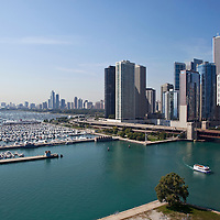 Chicago view from Navy Pier