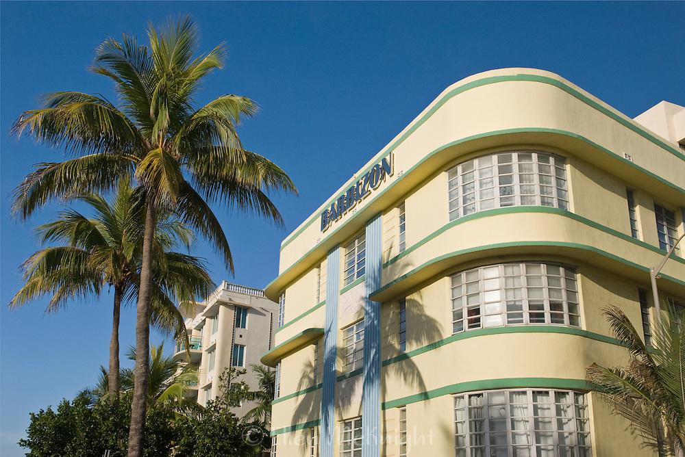 Barbizon Hotel on Ocean Drive in South Beach, Miami