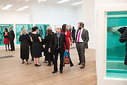 ANTONY FAWCETT, Damien Hirst, Tate Modern: dinner. 2 April 2012.