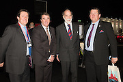 ALEC MUMFORD; NIGEL MANSELL; PRINCE MICHAEL OF KENT; NIGEL MUMFORD; , Preview for The London Motor Show, Battersea Evolution. London. 5 May 2016