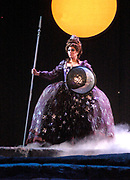 Miami, FL -- Feb. 09, 2005 -- Florida Grand Opera production of The Magic Flute by Wolfgang Amadeus Mozart. The Queen of the Night played by Amanda Pabyan. The Magic Flute (Die Zauberflöte) is the product of a unique collaboration between the actor-manager Emanuel Schikaneder, who commissioned it in 1791, and Mozart. (Photo by Gaston De Cardenas/El Nuevo Herald)