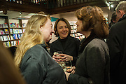 AMANDA CRAIG; Kathy O'Shaughnessy, William Fitzgerald, Book launch ,  'How to read a Latin poem - if you can't read Latin yet' published by OUP.- Daunts bookshop Marylebone, London 21 February 2013.