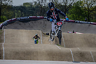 #24 (SHARRAH Corben) USA at the 2016 UCI BMX Supercross World Cup in Papendal, The Netherlands.