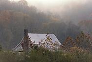 A farmhouse on a chilly fall morning, Trenton, Alabama