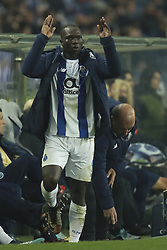 December 6, 2017 - Na - Porto, 06/12/2017 - Football Club of Porto received, this evening, AS Monaco FC in the match of the 6th Match of Group G, Champions League 2017/18, in Estádio do Dragão. Aboubakar thanks the public  (Credit Image: © Atlantico Press via ZUMA Wire)