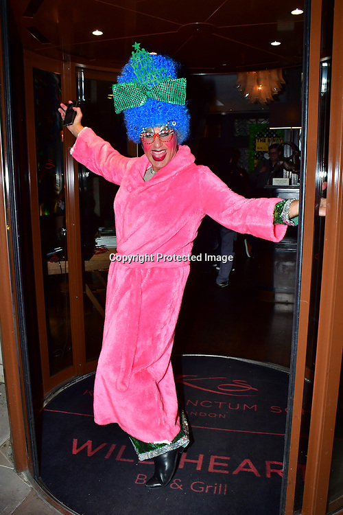 Simon Gross co-star of Jack And His Giant Bigstalk - press night, at Karma Sanctum Soho on 16th December 2019, London, UK.
