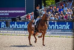 Castilla Ruiz Claudio, ESP, Alcaide<br /> European Championship Dressage<br /> Rotterdam 2019<br /> © Hippo Foto - Dirk Caremans