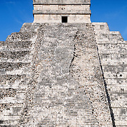 El Castillo (also known as Temple of Kuklcan) at the ancient Mayan ruins at Chichen Itza, Yucatan, Mexico 081216092508_4397.NEF
