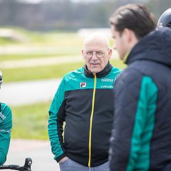 SITTARD (NED) WIELRENNEN<br />De elite-beloften van Allinq-Krush-De IJsselstreek zijn op trainingskamp in Limburg. Ton Welling