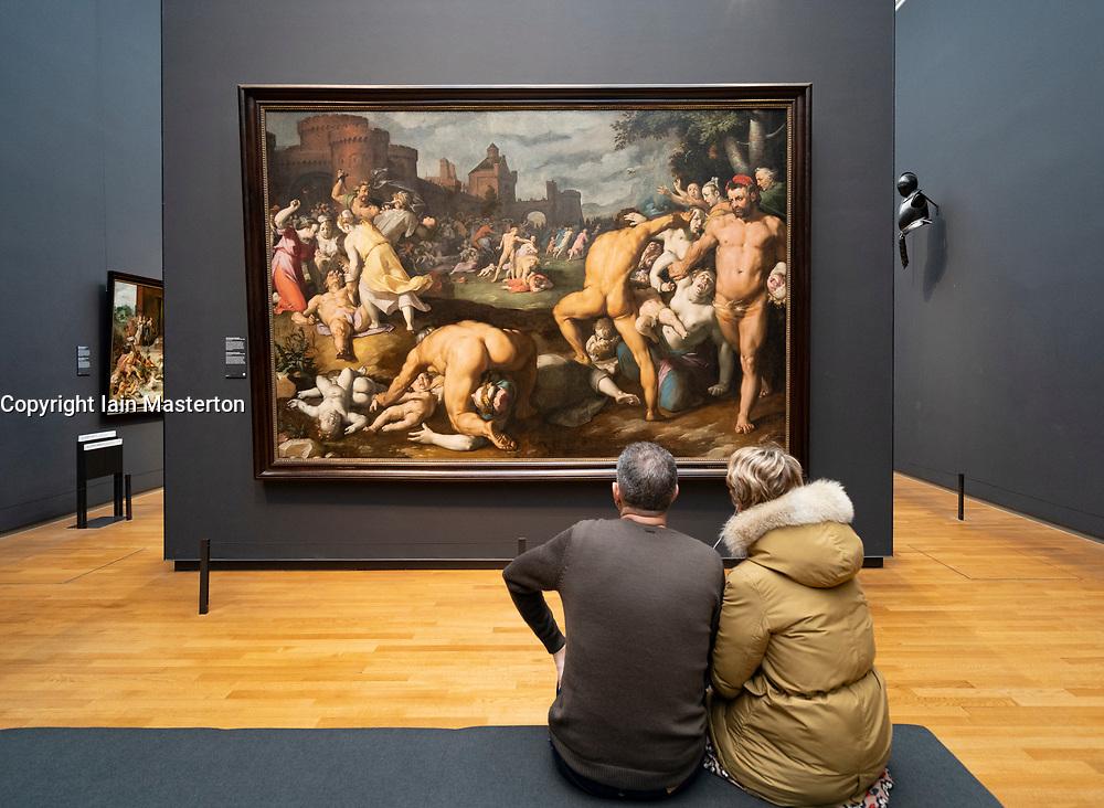 The Massacre of the Innocents, Cornelis Cornelisz. van Haarlem, 1590 at Rijksmuseum, Amsterdam, Netherlands