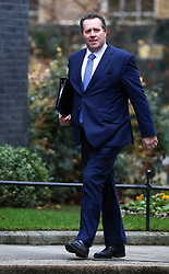 © Licensed to London News Pictures. 16/12/2019. London, UK. Mark Spencer Secretary of State to the Treasury, Chief Whip arrives at Downing Street . Photo credit: Alex Lentati/LNP