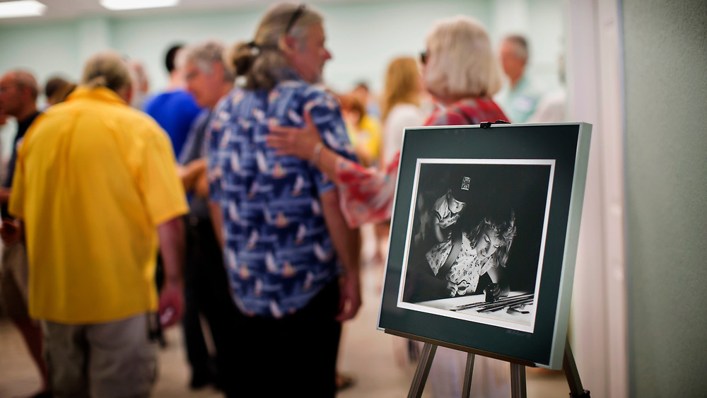 Gainesville Sun staff comes Gainesville, Fla. to celebrate the life of Carla Hotved, June, 22, 23, 2017. (Photo by/Stephen B. Morton)