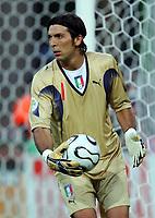 Hanover 12/6/2006 World Cup 2006<br /> <br /> Italia Ghana 2-0<br /> <br /> Photo Andrea Staccioli Graffitipress<br /> <br /> Gianluigi Buffon Italy