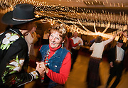 """NEWS&GUIDE PHOTO / PRICE CHAMBERS<br /> Ellen and Richard Tambor dance the night away at the Lions Club 49er Ball on Saturday at the Virginian. """"It's just fun,"""" Ellen Tambor said. """"We like getting dressed up."""" This year some proceeds from the event benefit the Community Resource Center."""