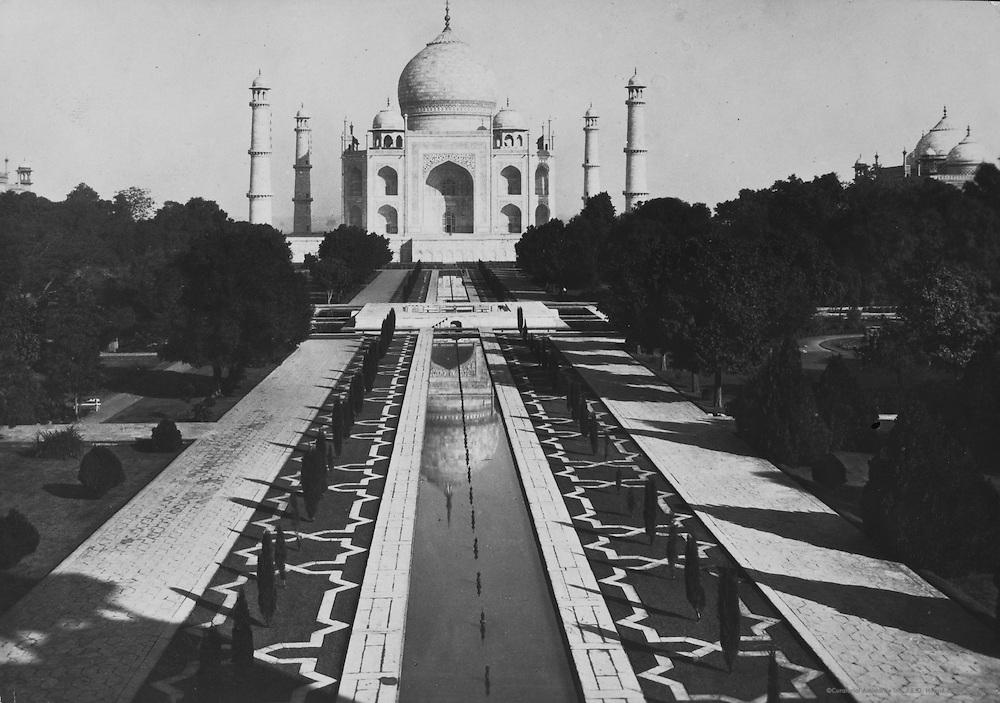The Taj Mahal, Agra, India, 1929