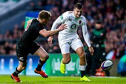 Jonny May of England - Mandatory by-line: Robbie Stephenson/JMP - 10/11/2018 - RUGBY - Twickenham Stadium - London, England - England v New Zealand - Quilter Internationals