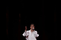 May 7, 2018 - Lisbon, Portugal - Singer ALEKSEEV of Belarus performs during the Dress Rehearsal of the first Semi-Final of the 2018 Eurovision Song Contest, at the Altice Arena in Lisbon, Portugal on May 7, 2018. (Credit Image: © Pedro Fiuza/NurPhoto via ZUMA Press)