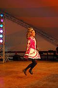 Photo of a Dancer at the Dublin Irish Festival in Dublin, Ohio.