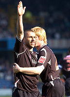 Photo: Olly Greenwood.<br />Queens Park Rangers v West Bromwich Albion. Coca Cola Championship. 31/03/2007. West Brom's Kevin Phillips celebrates scoring