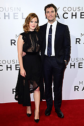 Holliday Grainger and Sam Claflin attending The world premiere of My Cousin Rachel held at Picturehouse Central Cinema in Piccadilly, London.