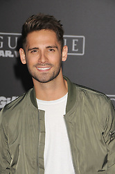 December 10, 2016 - Los Angeles, California, United States - December 10th 2016 - Los Angeles California USA - Actor JEAN LUC BILODEAU    at the World Premiere for ''Rogue One Star Wars'' held at the Pantages Theater, Hollywood, Los Angeles  CA (Credit Image: © Paul Fenton via ZUMA Wire)