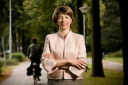Portrait of Barbara Kux, CPO of Siemens, and formerly of Royal Phillips Electronics.  Photographed by Brian Smale in Eindoven, the Netherlands in 2007 for Fortune Magazine's '50 Most Powerful Women' list.