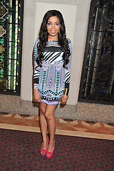 DIONNE BROMFIELD at the Women for Women International UK Gala held at the Guildhall, City of London on 3rd May 2012.