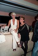 MIMA VIGLEZIO; GEORGINA GODLEY, Mario Testino exhibition.  Hosted by Vanity Fair Spain and Lancome. Thyssen-Bornemisza Museum (Paseo del Prado 8, Madrid.20 September 2010.  -DO NOT ARCHIVE-© Copyright Photograph by Dafydd Jones. 248 Clapham Rd. London SW9 0PZ. Tel 0207 820 0771. www.dafjones.com.