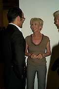 TOM FORD; TRUDY STYLER, Mario Testino: Obsessed by You -  private view<br />Phillips de Pury & Company, Howick Place, London, SW1, 2 July 2008 *** Local Caption *** -DO NOT ARCHIVE-© Copyright Photograph by Dafydd Jones. 248 Clapham Rd. London SW9 0PZ. Tel 0207 820 0771. www.dafjones.com.