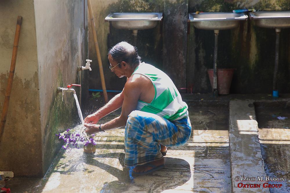 Washing Flowers, Gyee Zai Market