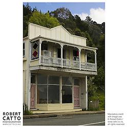 Kohukohu, Hokianga Harbour, Northland, New Zealand.<br />